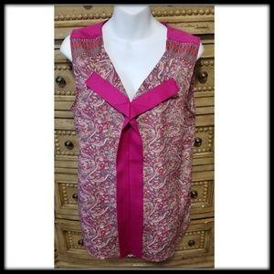 The Limited sleeveless blouse, large